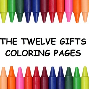 Twelve Gifts Coloring Pages